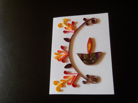 Diwali 70 And Quilling