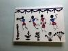 Ethnic Print Card
